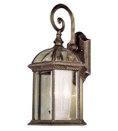 Trans Globe Lighting 44181-BC Botanica 3 Light 19 inch Black Copper Outdoor Wall Lantern