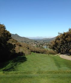 Carmel Valley Ranch Golf Course No. 16 Par 3. Had to pin for the golf lovers.