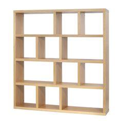 "Berlin 4 Level 63"" Cube Unit Bookcase"