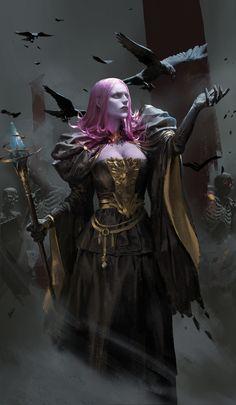 ArtStation - The last witch, I sist