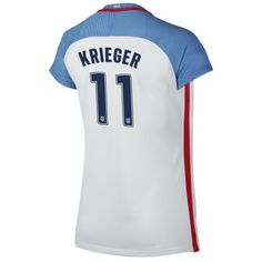 95940ccf2 2016 Home Ali Krieger Jersey USA Women s Soccer  11 - White Soccer Shop