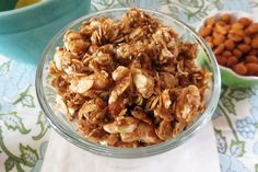 Weekly Recap - Peanut Butter Granola, Sugar Smacks meets Cracker Jacks!  So addicting!!