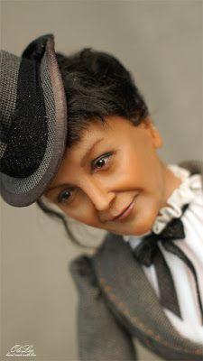 Авторская студия OleLoo: Портретная кукла Оксаны Панченко