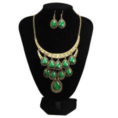 TZ21 vintage new 2014 fashion parure joyas bijuterias bijoux bisuteria conjuntos de joias schmuck costume jewelry sets for women