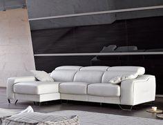 Sofa chaiselongue alta calidad pedro ortiz piel polipiel Ideas Para, Couch, Leather, Furniture, Home Decor, Yurts, Fur, Settee, Decoration Home