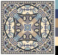 Modelo Cuadrado Geométrico De Punto De Cruz Bordado Tradicional Ucraniano, Que Como Hecho A Mano Y De La Creación, Pixel Ornamental Ilustración Vectorial Ilustraciones Vectoriales, Clip Art Vectorizado Libre De Derechos. Image 37089726.
