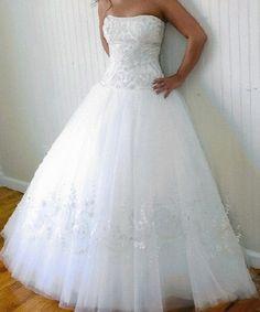 replica miniature wedding gowns