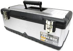 HOMAK SS00122500 23-Inch Stainless Steel Tool Box...Tool Box, New, Free Shipping