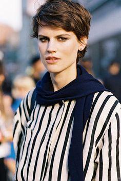 New York Fashion Week SS 2015....Saskia