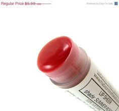 60 OFF EVERYTHING SALE Summer Rose Lip by MadisonStreetBeauty, $2.40