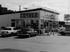 Carvel ice cream stand at Hudson & Ridge, Rochester, NY. Yum.