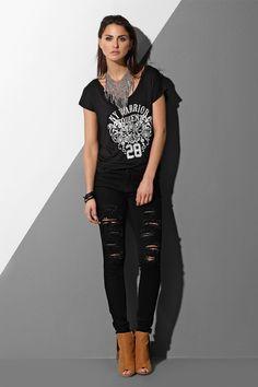 SWEET ANGEL Ss16, Black Jeans, Sporty, Angel, Sweet, Pants, Style, Fashion, Fashion Styles