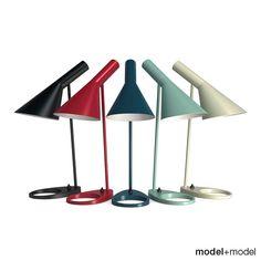 Arne Jacobsen  Table lamp produced by Louis Poulsen
