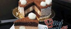 Nugátový dort s kokosovými kuličkami Graham Crackers, Nutella, Tiramisu, Red Velvet, Cheesecake, Sweets, Ethnic Recipes, Twilight, Cakes