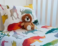 Shop this fun oversized Animal Print Bedding and more at Wake Up Duvets Etsy store www.wakeupduvets.etsy.com