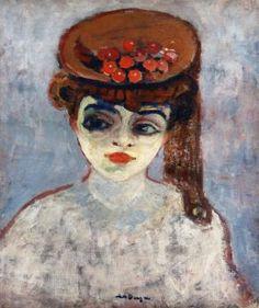 Hat with Cherries - Kees van Dongen - The Athenaeum