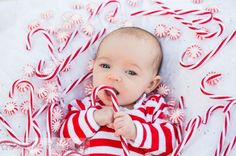 Photo by Studio None Photography Christmas photo ideas for babies. Baby photogra… Photo by Studio None Photography Christmas photo ideas for babies. All around adorable! by joann