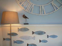 Sheringham B&B and holiday apartment Driftwood Fish, Holiday Apartments, Coastal Art, Magnolia, Cottage, Home Decor, Decoration Home, Room Decor, Magnolias