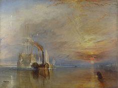 William Turner, 'The Fighting Temeraire', 1839