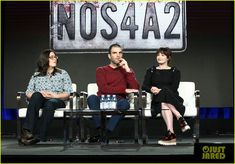 Zachary Quinto Opens Up About His Eerie Character!: Photo Zachary Quinto is opening up about his villain, Charlie Manx! The actor appeared on the panel to discuss his new series during the AMC segment… Nos4a2, Zachary Quinto, Chris Pine, New Series, Open Up, Famous People, Photo Galleries, Tube, February