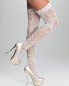 Lace Stockings.
