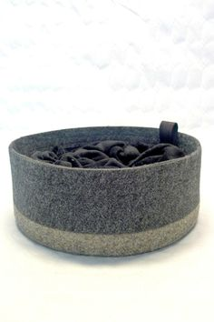 Felted cat bed