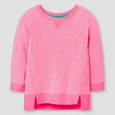 Toddler Girls' Sweatshirt Luminous Coral - Cat & Jack™