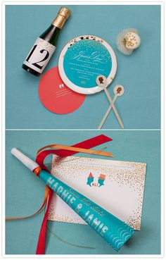 Beautiful invitations from Cheree Berry | Pretty Paper | 100 Layer Cake