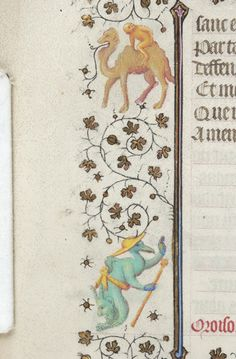 Book of Hours, MS M.919 fol. 157v - Images from Medieval and Renaissance Manuscripts - The Morgan Library & Museum