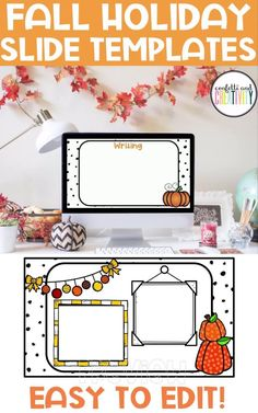 Do you need PowerPoint or Google Slides for your classroom or distance learning? Stay festive with these bright and beautiful Fall Holiday Slide Templates for your classroom. Distance learning classroom. Distance learning teacher resources. Google slides templates for teachers distance learning. #teacherresources #teacherclassroom #teacher #googleclassroom #holidayclassroom #fallclassroomideas #falldistancelearning #classroomthemes #tpt Classroom Walls, Classroom Themes, Kindergarten Classroom, High School Classroom, Fall Classroom Decorations, Meet The Teacher Template, Teaching Social Studies, Teacher Resources, Templates