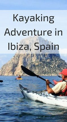 Kayaking adventure in Ibiza, Spain. Kayaking around Ibiza's amazing coastline is another thing that needs to be on your top things to do in Ibiza list. Explore hidden caves along Ibiza's coastline on a search for some hidden treasure. Click to read more about Ibiza Spain at http://www.divergenttravelers.com/things-to-do-in-ibiza/