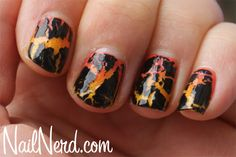volcanic nails