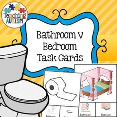 This resource contains 27 different task cards giving students the choice of recognising if the image can be found in the Bathroom or the Bedroom.The task cards are in col and b/w option for your preference.I recommend cutting out each card individually a
