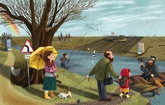 Cross the RiverCustomer: Kvantik Magazine; by Olga Demidova