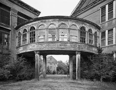Bridge to Infirmary Ward, Taunton State Hospital, Massachusetts