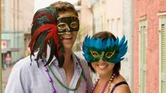 Mardi Gras celebration kicks off with a free blues concert and New Orleans–style processional that leads into masquerade ball New Orleans Halloween, Mardi Gras Party, Costume Contest, Costume Ideas, Masquerade Ball, Halloween Costumes, Drink Specials, Style, Venetian
