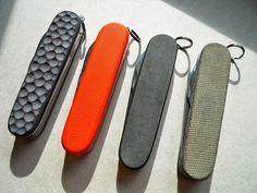Andrzej Woronowski Custom Knives: Victorinox Swiss Army Knife scales 1