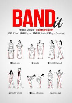 Band It Workout                                                       … #Resistancebands