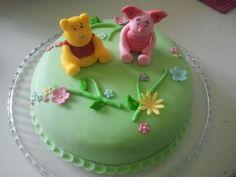 Cake decoration winnie de pooh
