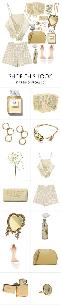 """""""Lemonade"""" by sparkling-oceans ❤ liked on Polyvore featuring Monserat De Lucca, Pier 1 Imports, Marta Ferri, EASEL, Cultural Intrigue, Casadei, A.P.C., Zippo and vintage"""