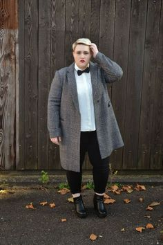 Women S Plus Size Dresses At Nordstrom Fat Fashion, Queer Fashion, Tomboy Fashion, Grey Fashion, Tomboy Style, Fashion Spring, Womens Fashion, Fashion Shoes, Plus Size Clothing Stores