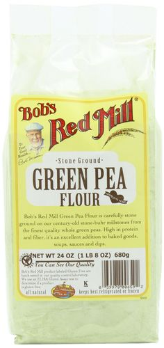 Bob's Red Mill Bean Flour Green Pea, 24-Ounce (Pack of 4)