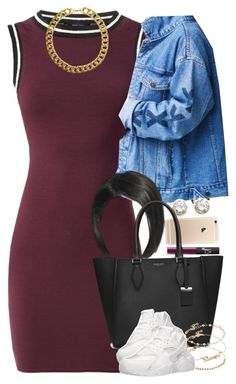 """""""Untitled #1614"""" by lulu-foreva ❤ liked on Polyvore featuring NARS Cosmetics, Kenneth Jay Lane, Michael Kors, ASOS, NIKE and Gogo Philip"""