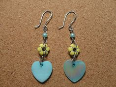 #dualshine  pendant earrings# pendant earrings dualshine#dualshine.com Pendant Earrings, Drop Earrings, Handmade Items, Handmade Gifts, Heart Jewelry, Unique Jewelry, Etsy Store, Turquoise, Trending Outfits