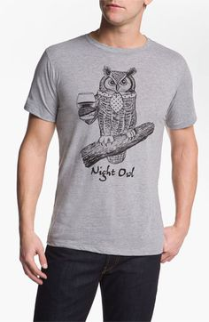 "Headline Shirts ""Night Owl"" Graphic T-shirt"