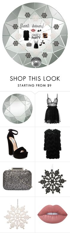 """Do you wanna dance?"" by marzy2shine on Polyvore featuring moda, Lazy Susan, Alexander McQueen, Steve Madden, Armani Collezioni, Dorothy Perkins, Lime Crime, danceparty e nye"