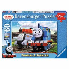 Thomas & Friends Thomas and Spencer Puzzle, 60 Pieces, Multicolor