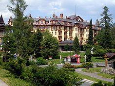 Ótátrafüred központja Grand Hotel, Mansions, House Styles, Home Decor, Decoration Home, Manor Houses, Room Decor, Villas, Mansion
