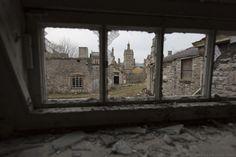 buildings window broken Denbigh Asylum Wales Urbex Urban exploration Adam X Urban Exploration Photo photos photographs UK March 2015 report abandoned disused derelict decay decayed