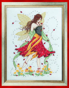 Lady Bird Fairy Cross Stitch Collection Issue 206 February 2012 Saved